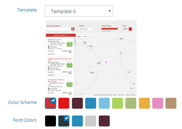 Color Scheme Template 0