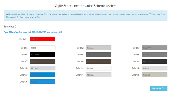 Color Generator Tool