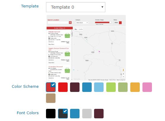 Color Scheme Selection